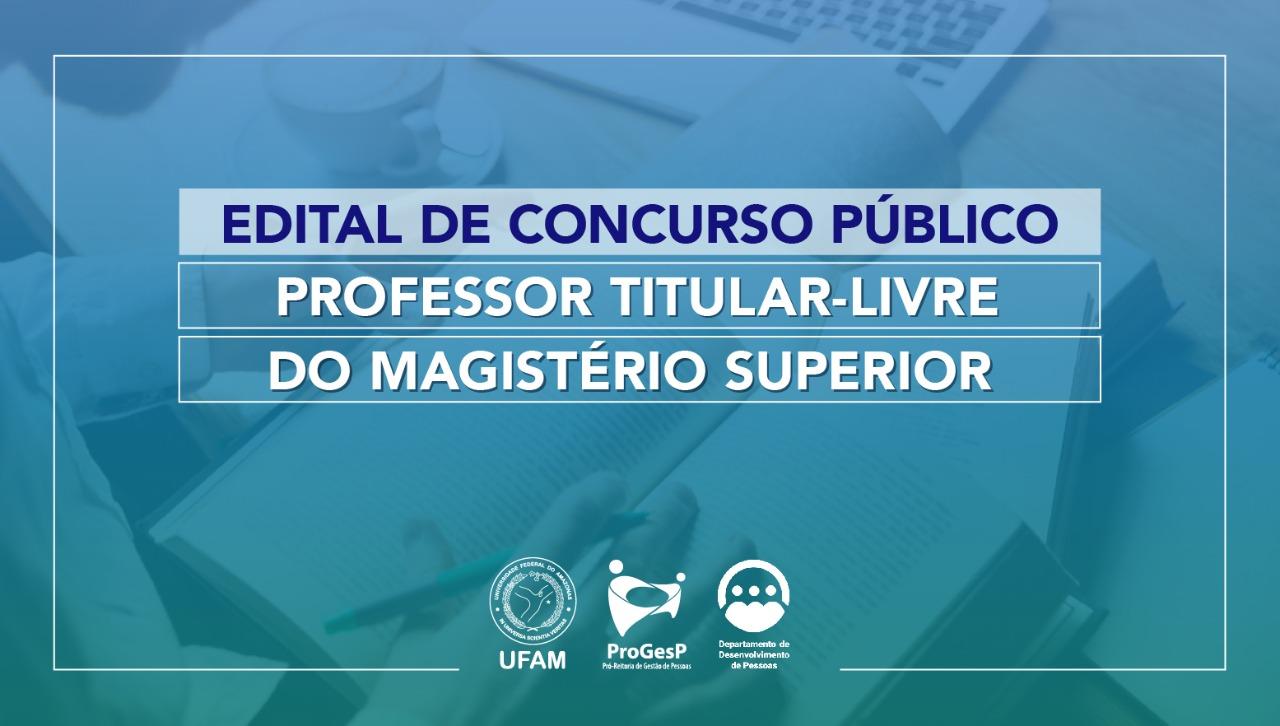 Edital 11.2021 - Professor Titular-Livre do Magistério Superior