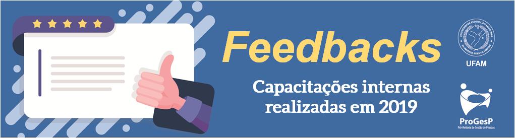 Feedbacks - Capacitações internas 2019