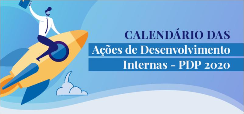Calendário de Ações Internas do DDP/ PROGESP
